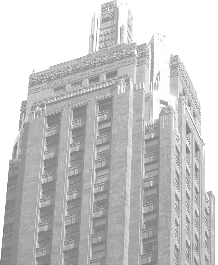 Historical photo of Chicago building