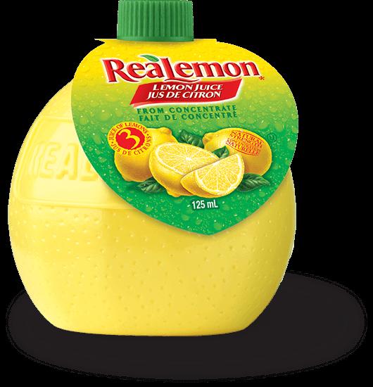 ReaLemon 125 mL squeeze bottle