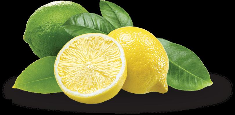 Limes et citrons frais