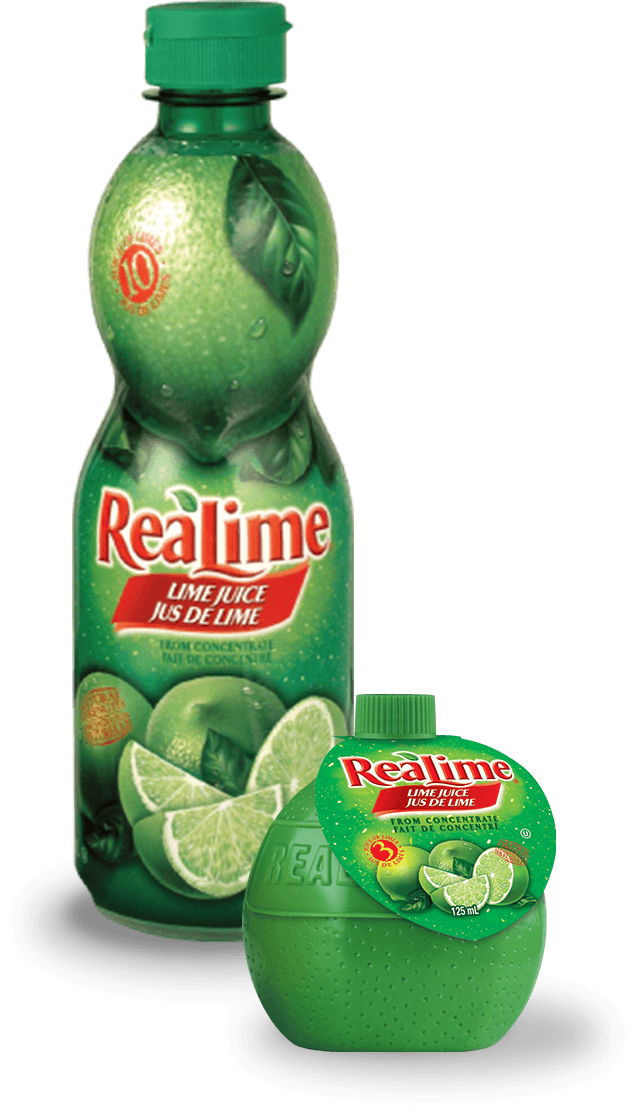 Le jus de lime ReaLime