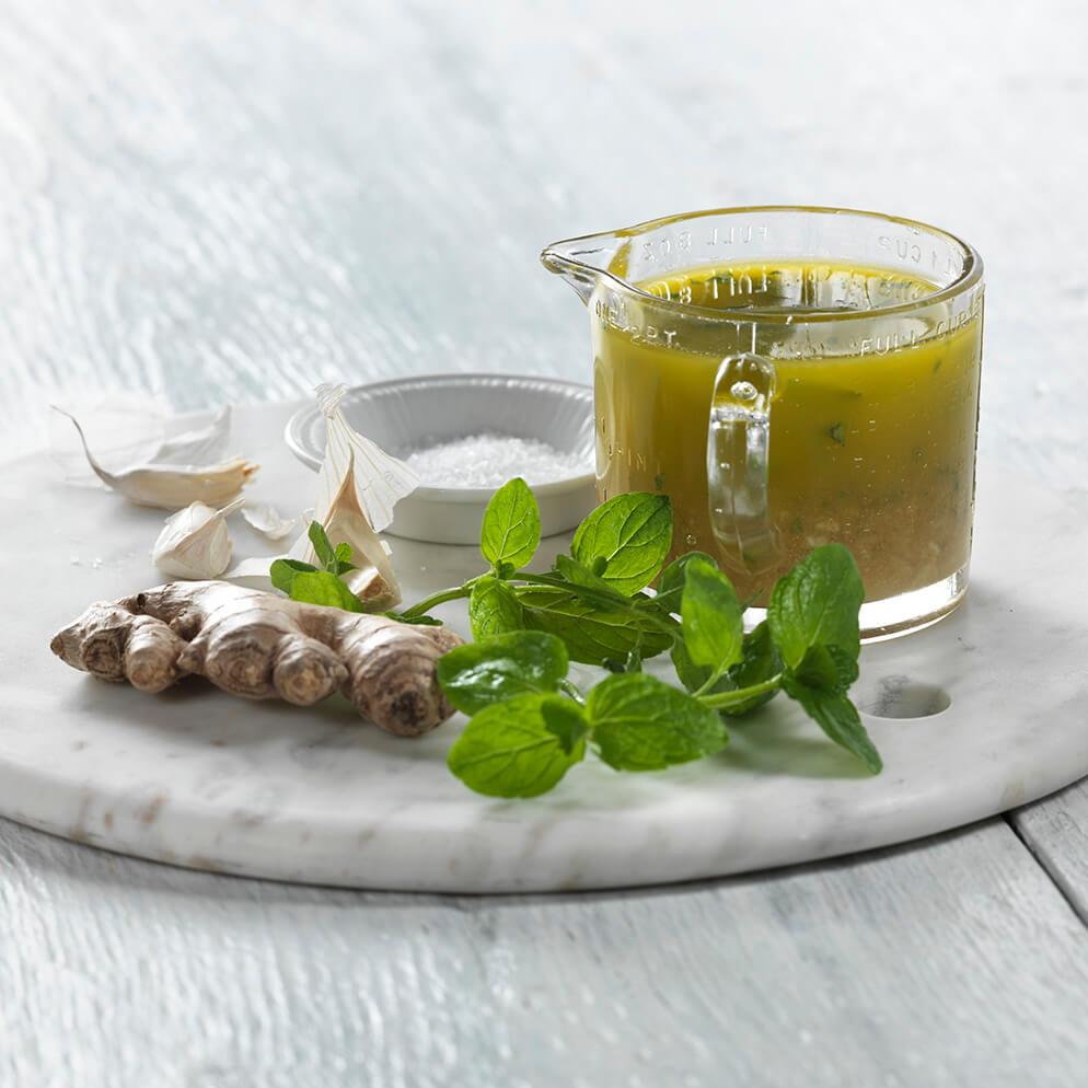Mojo Shrimp Marinade in jar recipe made with ReaLime