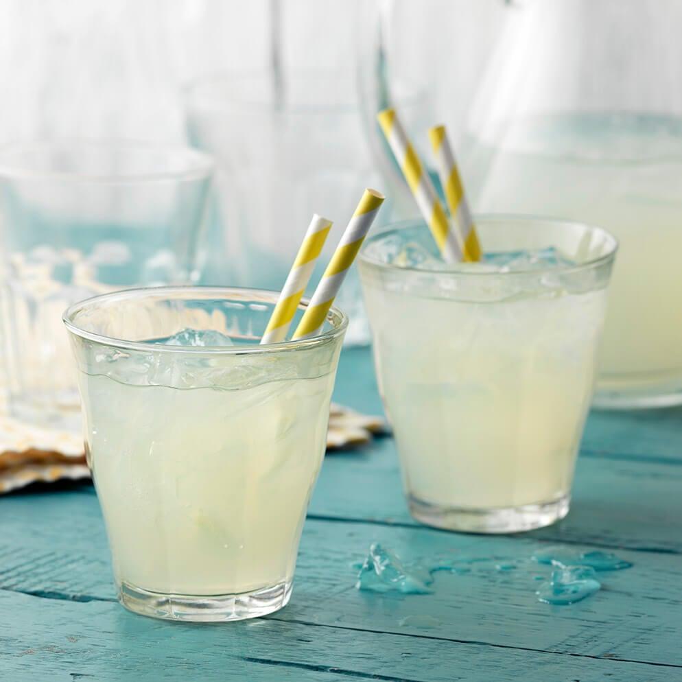 ReaLemon Lemonade recipe in glasses