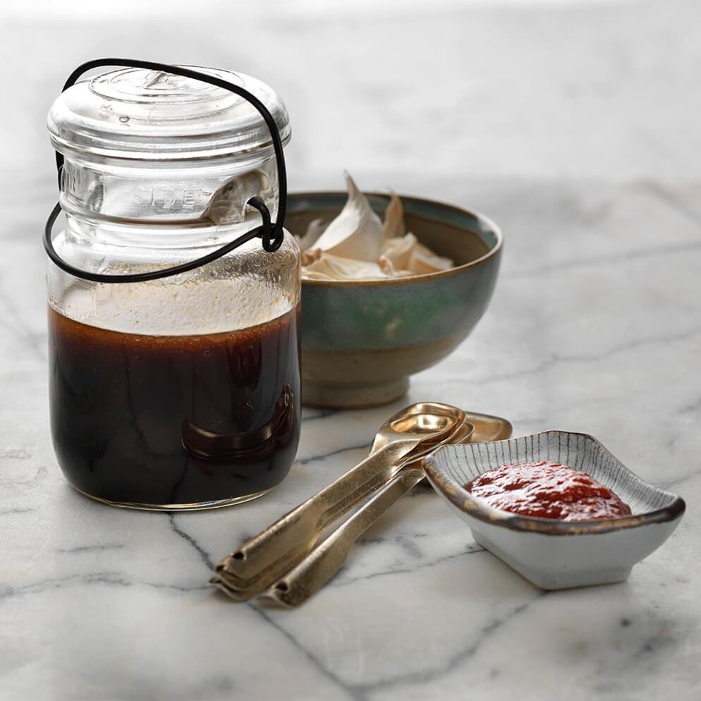 Teriyaki Chicken Marinade in jar recipe made with ReaLemon