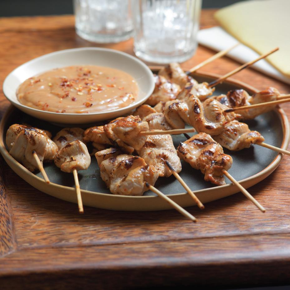 Thai Chicken Appetizer Skewers