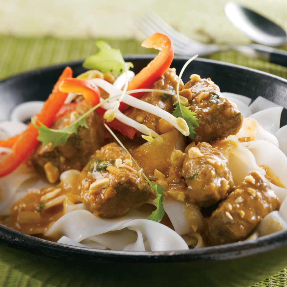 Thai Coconut Beef and Green Curry